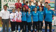 Büyükşehirli karateciler Rize'de madalyaları topladı