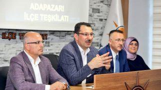 """Ali İhsan Yavuz, """"AK Parti  bir dava hareketidir."""""""