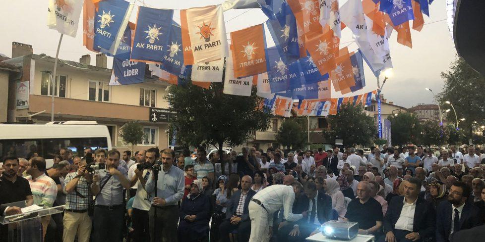 AK Parti'nin 18'nci yıl dönümü Sakarya'da coşkuyla kutlandı.