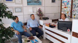AK Parti İl Başkanı TEVER'den İlçemizde Hacı ziyareti…