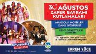 30 Ağustos Zafer Bayramının 97. yılı coşku ile kutlanacak