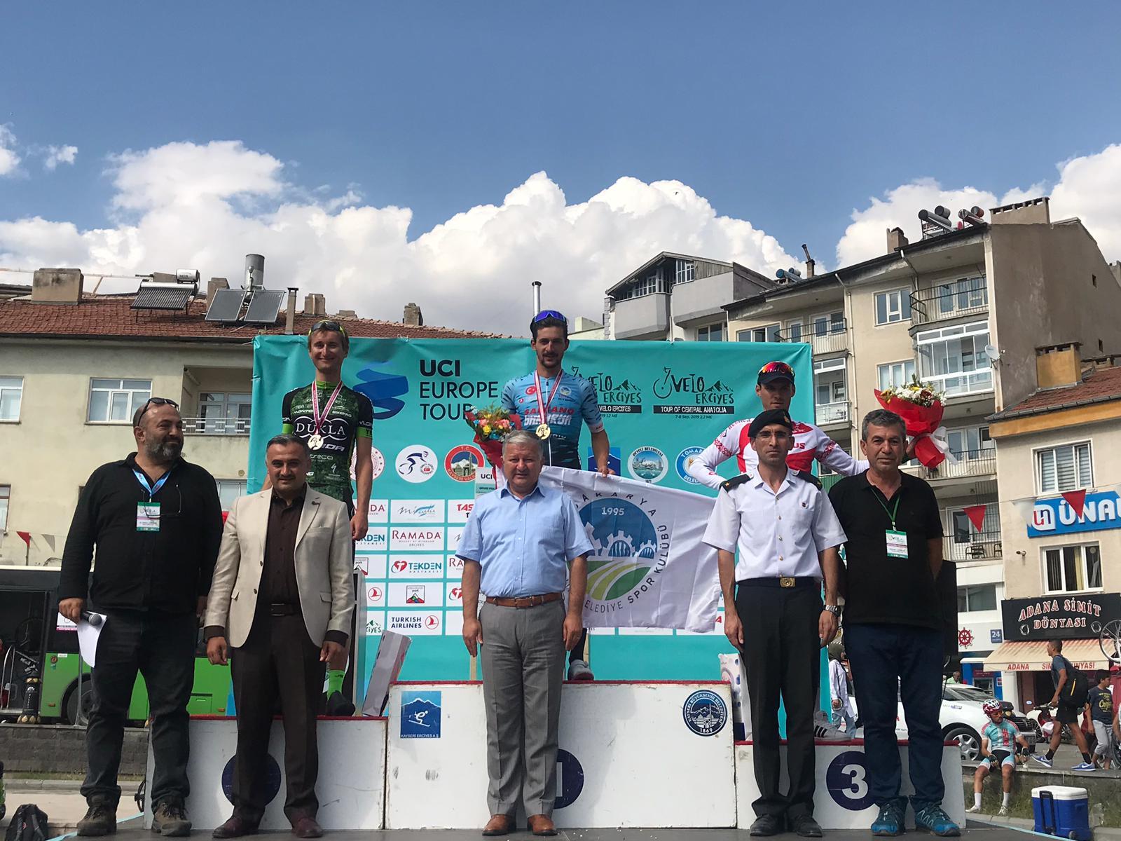 Büyükşehirli Onur Balkan Kayseri'de kürsünün sahibi