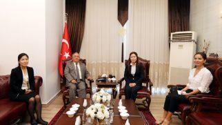 Kore Cumhuriyeti İstanbul Başkonsolosundan Vali Nayir'e Ziyaret