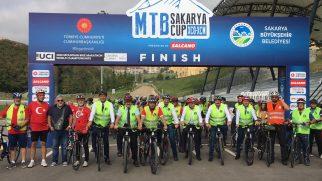 Halk bisiklet turu Ayçiçeği Vadisi'nde son buldu
