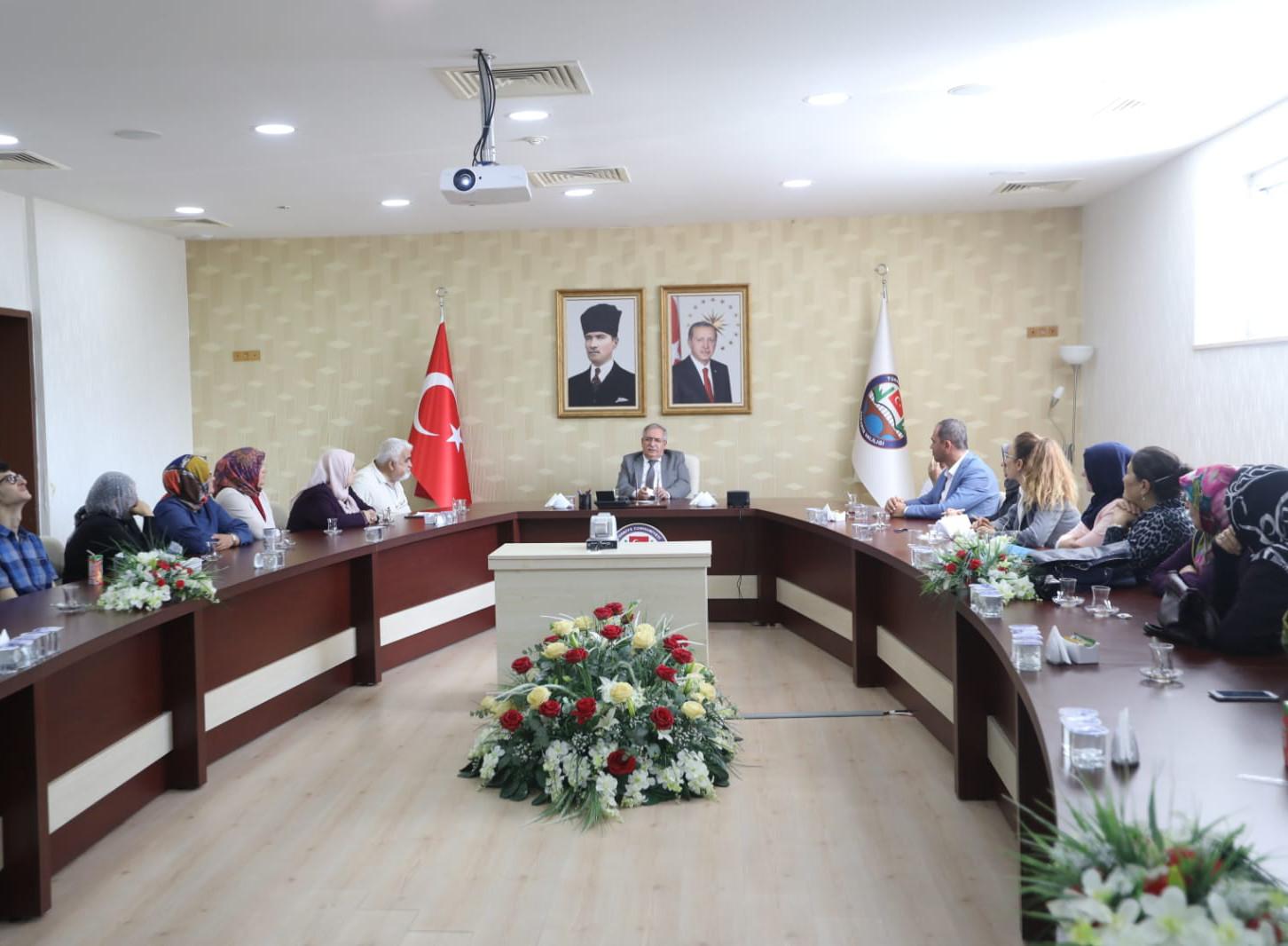 Engellilerin İstihdamı Konulu Değerlendirme Toplantısı Gerçekleştirildi