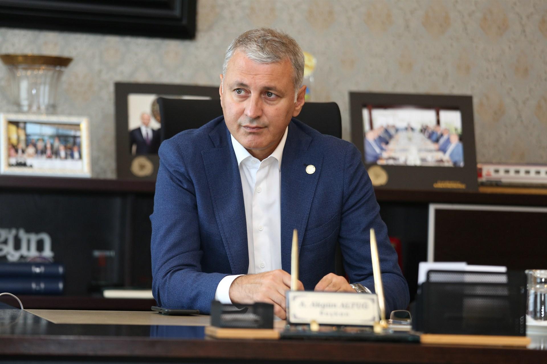 Başkan Altuğ'dan taziye ve kınama