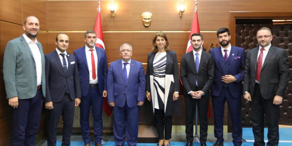 Boşnak Milli Meclis Üyelerinden Vali Nayir'e Ziyaret