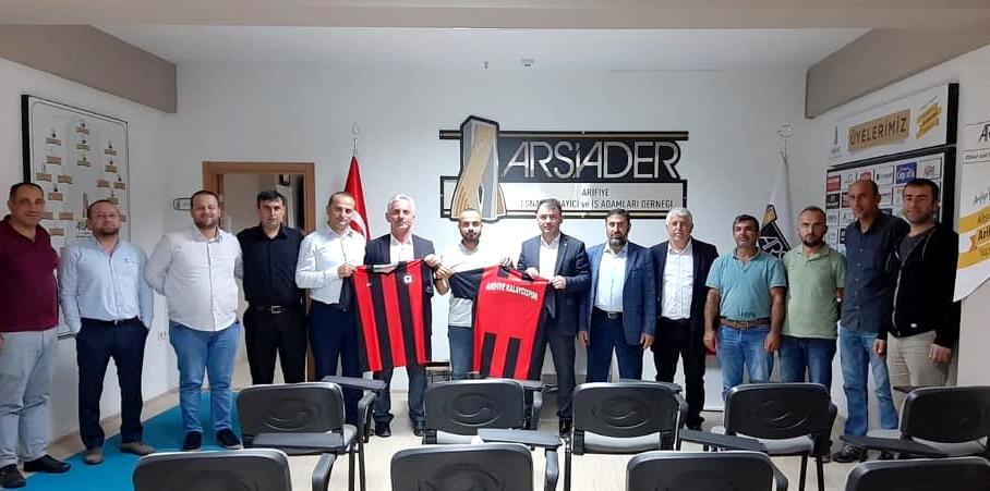 ARSİADER'E YENİ ÜYELER VE KALAYCISPOR'A DESTEK