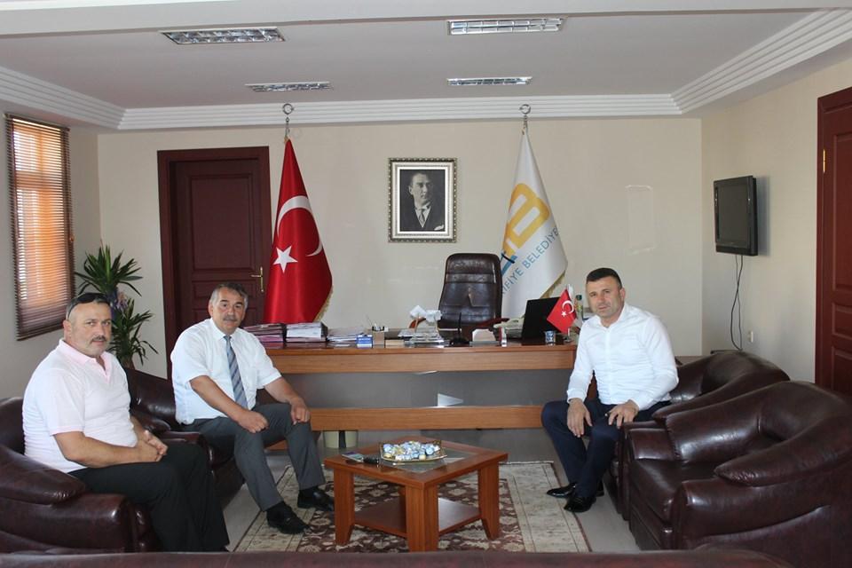 Sapanca Belediye Başkanı Özen'den ziyaret