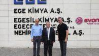 Vali Nayir Ege Kimya Fabrikasını ziyaret etti