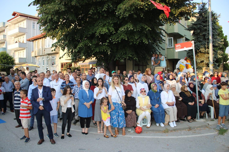 Kınalılar Kültür Şenliği'nde coştu