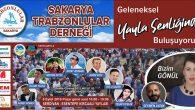 Sakarya Trabzonlular Derneği'nin  yayla şenliği pazar günü