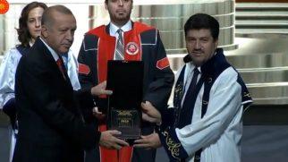 SUBÜ'YE TOPLUMA HİZMET ÖDÜLÜ