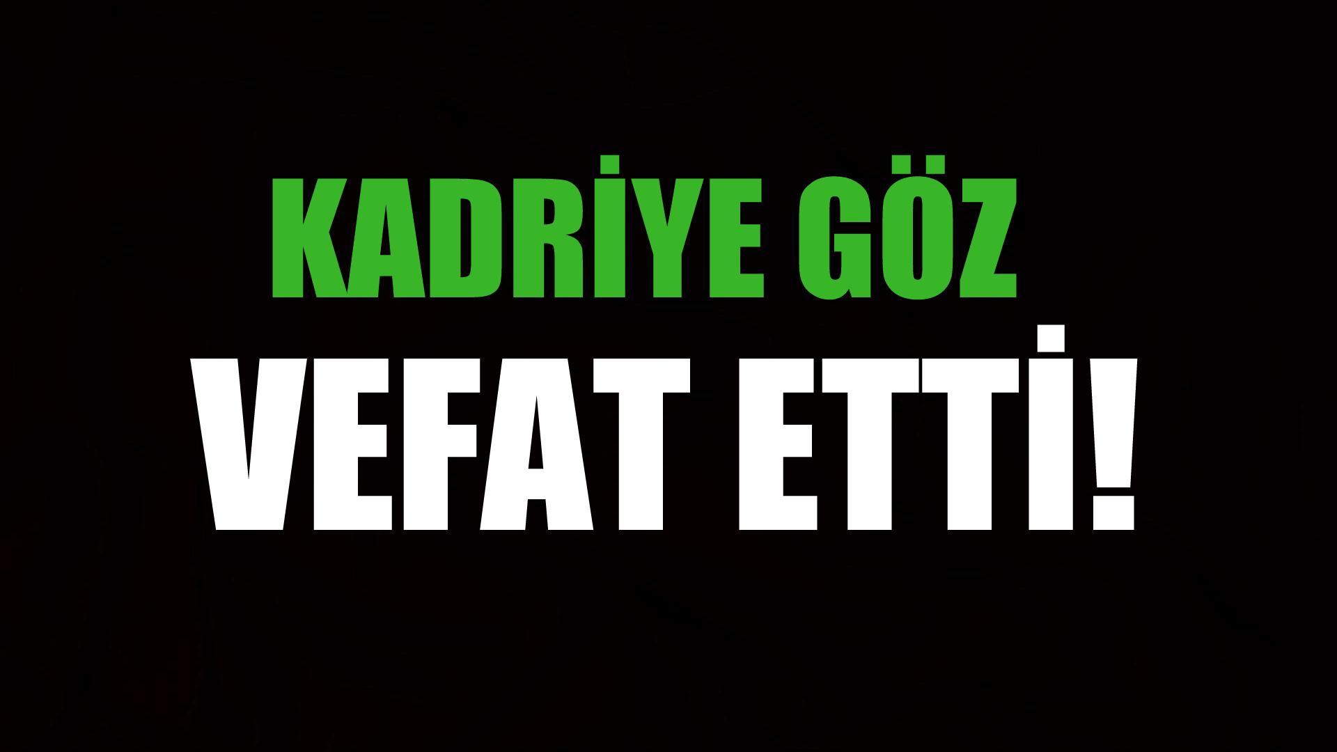 GÖZ AİLESİNİN ACI GÜNÜ!..