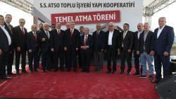 S.S. ATSO Toplu İş Yeri Temel Atma Töreni gerçekleşti.
