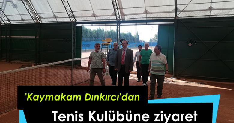 Kaymakamımız Sakarya Tenis Kulübünü Ziyaret Etti.