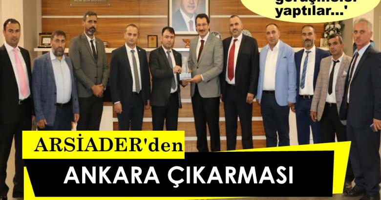 ARSİADER'den Ankara Çıkarması