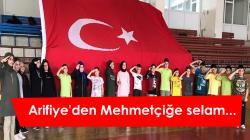 Arifiye'den Mehmetçiğe selam…