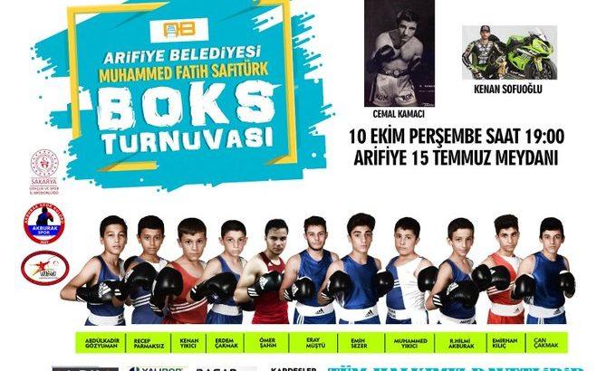 Arifiye'de Boks Turnuvası