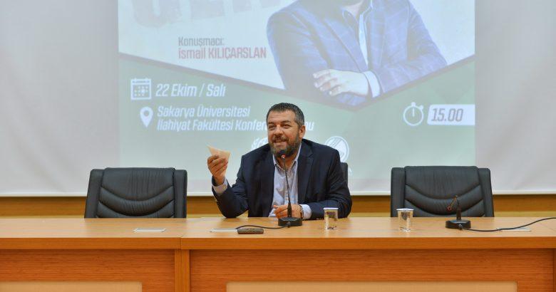 """""""Modern Zamanlarda Genç Olmak"""" konulu konferans düzenlendi."""