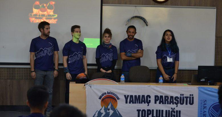 Yamaç Paraşütü Topluluğu Üyeleri Tanıştı