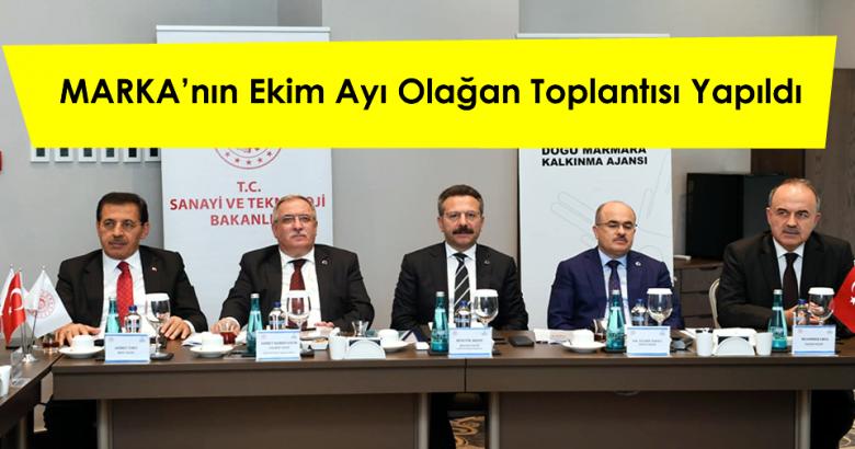 Doğu Marmara Kalkınma Ajansının (MARKA), Ekim ayı olağan Yönetim Kurulu Toplantısı Kocaeli'de gerçekleştirildi.
