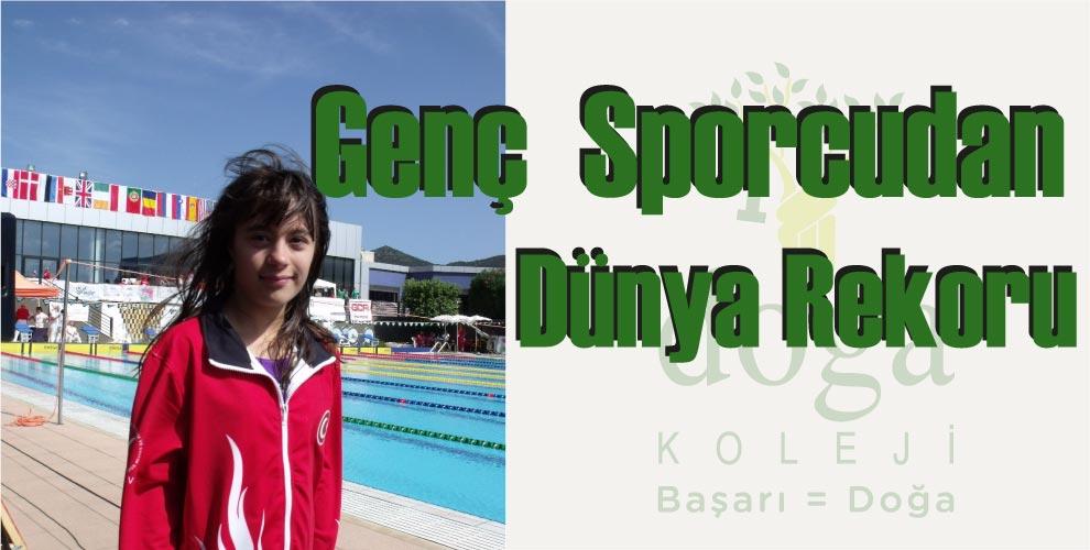 Genç Sporcudan Dünya Rekoru