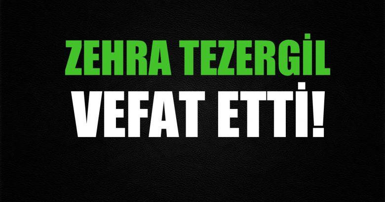 TEZERGİL AİLESİNİN ACI GÜNÜ!..