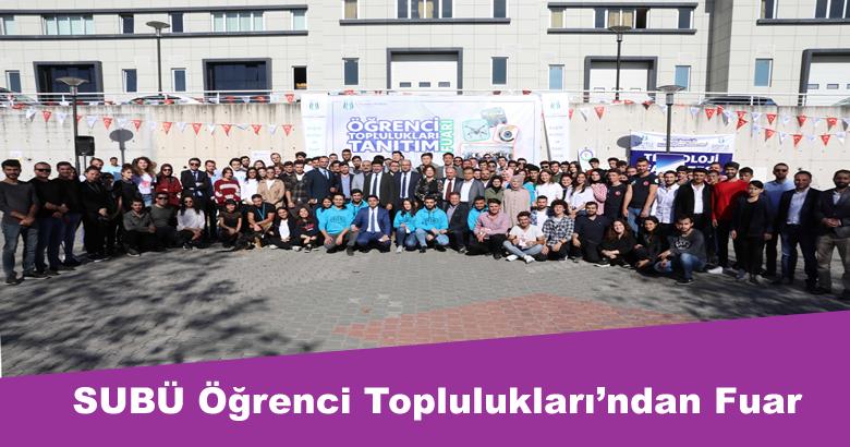 Sakarya Uygulamalı Bilimler Üniversitesi (SUBÜ) Öğrenci Toplulukları Tanıtım Fuarı gerçekleştirildi.