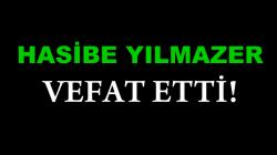 YILMAZER AİLESİNİN ACI GÜNÜ!..