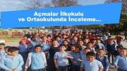 Açmalar İlkokulu ve Ortaokulunda İnceleme…