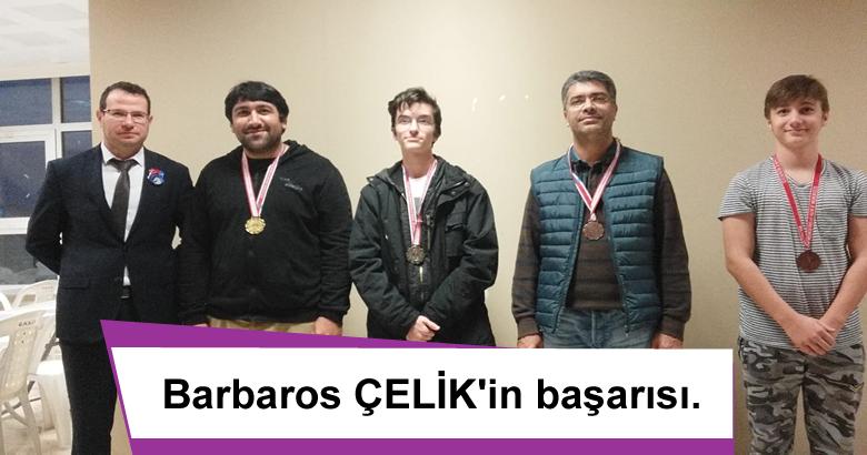 Barbaros ÇELİK'in başarısı.