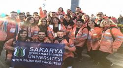SUBÜ Öğrencileri İstanbul Maratonu'nda