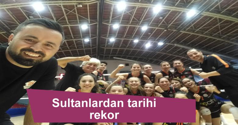Sultanlardan tarihi rekor