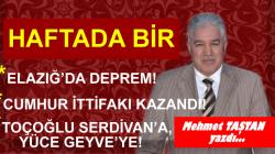 ELAZIĞ'DA DEPREM!..