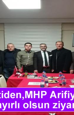 Ak Partiden,MHP Arifiye İlçeye hayırlı olsun ziyareti
