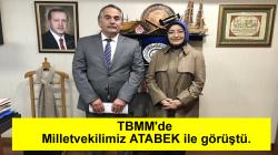 Başkan Karakullukçu Milletvekilimiz ATABEK'i ziyaret etti.