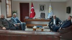 Başkan Vekili Çetin'e Sürpriz ziyaret