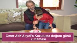 Ömer Akif Akyol'a Kuzuluk'ta doğum günü kutlaması