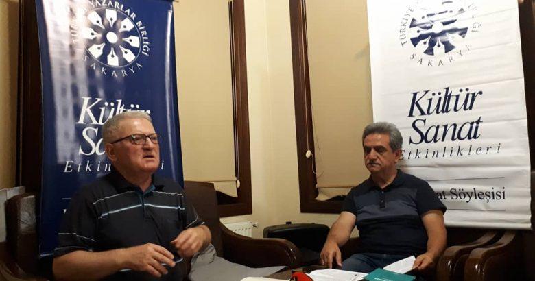 TYB Sakarya'dan Şair Ömer Emecan'a 'Leylican' Söyleşisi