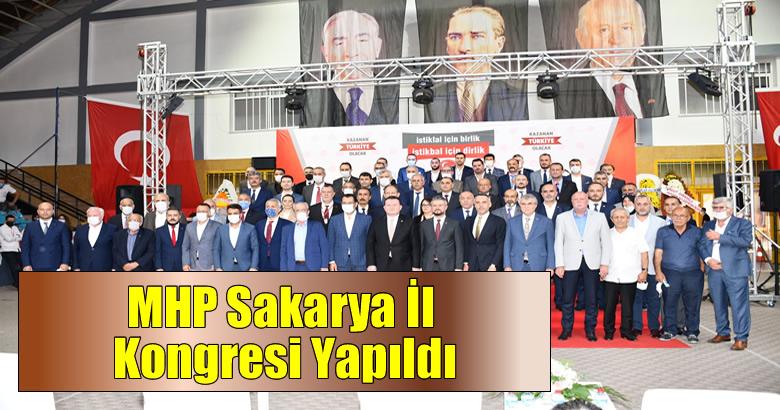 MHP Sakarya İl Kongresi Yapıldı