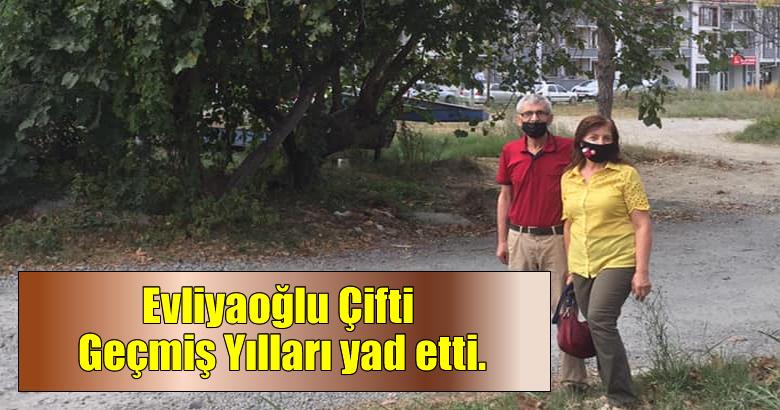 Evliyaoğlu Çifti Geçmiş Yılları yad etti.