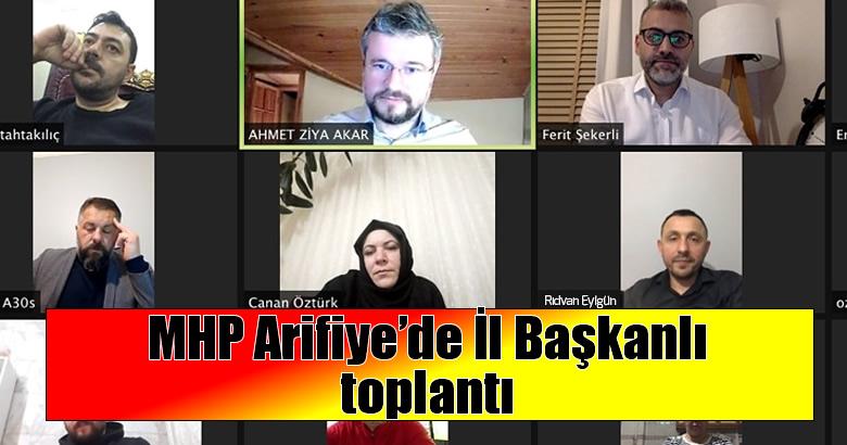 MHP Arifiye'de İl Başkanlı toplantı
