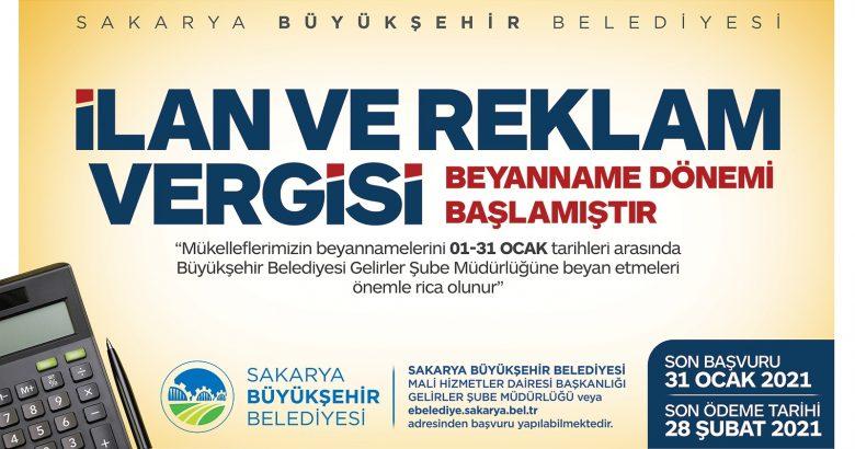 Vergi beyannameleri için son gün 31 Ocak