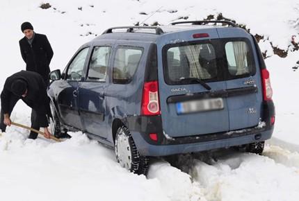 Karda nasıl araç kullanılır?
