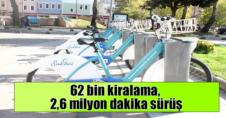 2020'de Sakaryalılar bisikleti tercih etti