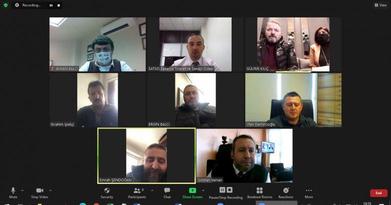 27. Meslek Komitesi Meslek Grubu Üyeleri ile bir araya geldi