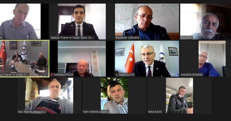 1. Meslek Komitesi Meslek Grubu Üyeleri ile bir araya geldi