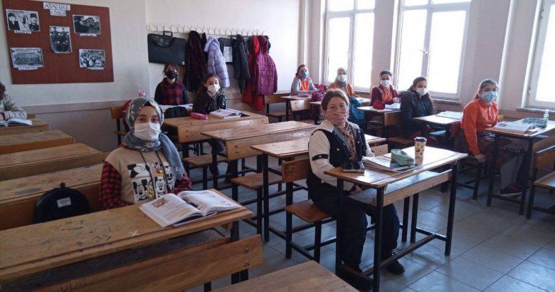 İlçemizde ki Okullarda Eğitim heyecanı