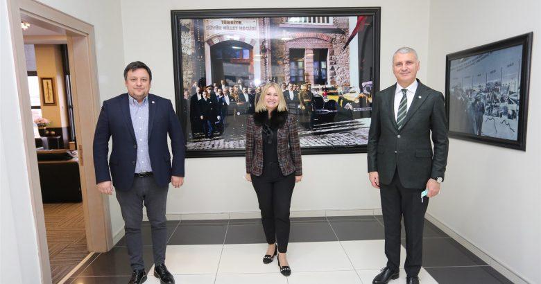Hırvatistan İstanbul Başkonsolosluğu'ndan SATSO'ya Ziyaret